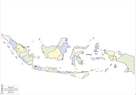 indonesia  map  blank map  outline map