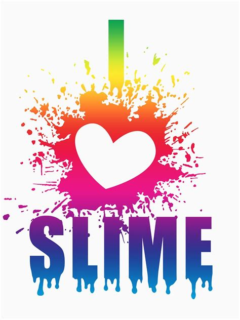 love slime funny  shirt gift idea  slime parties