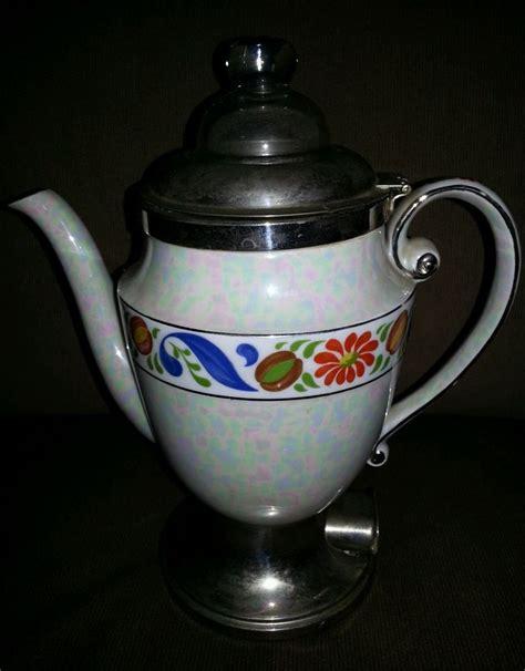 Percolators & moka pots & turkish coffee pots. Vintage Royal Rochester Electric Coffee Pot | Coffee pot ...