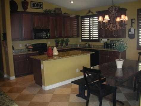 kitchen wall colors with brown cabinets 12 collection of kitchen wall colors with brown cabinets 9843