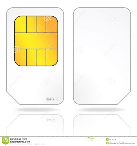 sim card royalty  stock  image