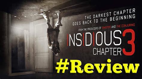 Insidious Chapter 3 Review - Hashtag Reviews - YouTube