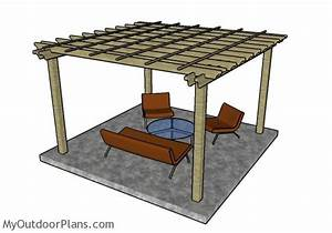 12x12 Pergola Plans MyOutdoorPlans Free Woodworking