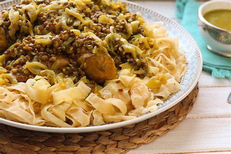 cuisine four vapeur rfissa au poulet recette de la cuisine marocaine