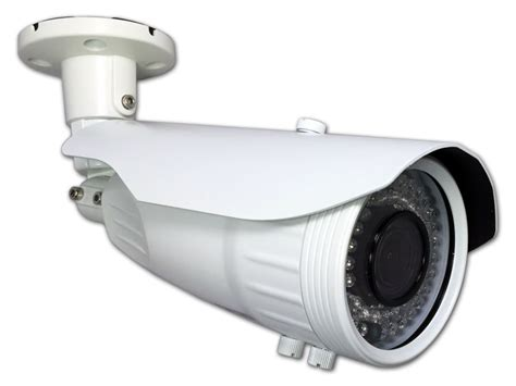 Outdoor Bullet Camera With Ir And Multi-format Compatibility