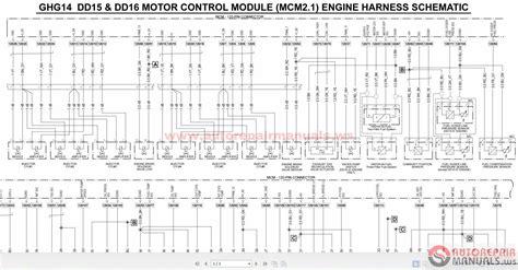 Ddec Iii Ecm Wiring Diagram Auto Electrical