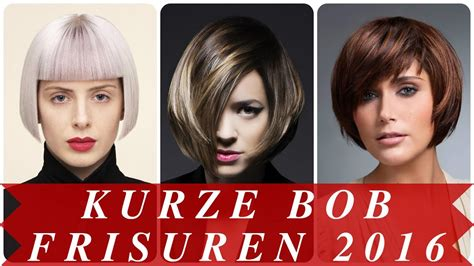 kurze bob frisuren  youtube