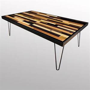 handmade stained wood plank table scrap wood designs With wood plank top coffee table