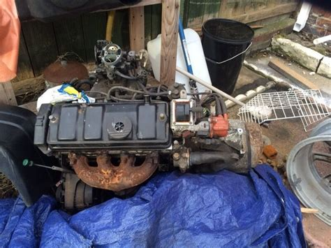 Citroen Ax Gt/205 Xs Engine And Gearbox Complete Alloy