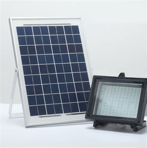 bizlander 10w 108 led solar power flood light rh newtons