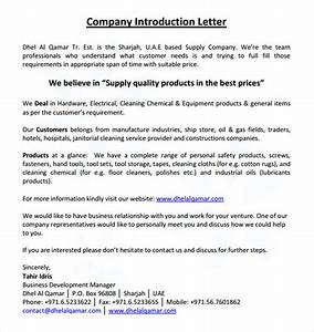 sample business introduction letter 14 free documents With sample of introduction letter of event management company