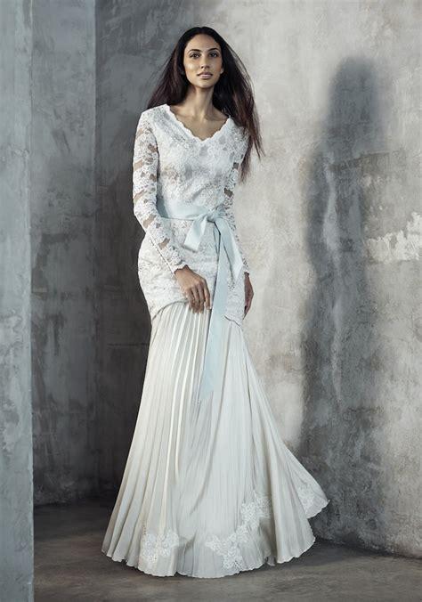 baju pengantin terkini baju akad nikah modern