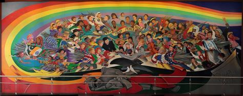 Denver Airport Murals Painted by The Denver Airport Murals Are They Depicting The World