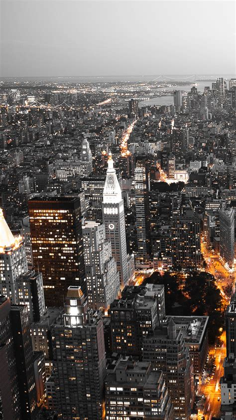 cool city lights android wallpaper