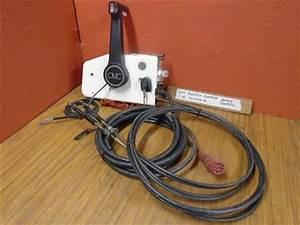 Omc Johnson Evinrude Remote Red Plug Omc Johnson Evinrude