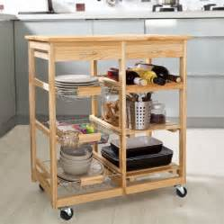 bamboo kitchen island rolling bamboo kitchen cart island trolley cabinet w wine rack drawer shelves walmart