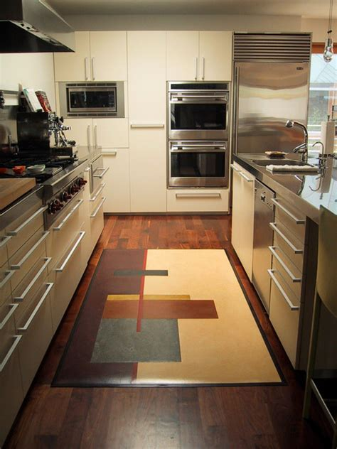 rustic canyon rugs modern kitchen los angeles