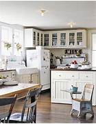 Country Kitchen Style For Modern House Adorning With A Classic Farmhouse Inspiration Decorations Tree
