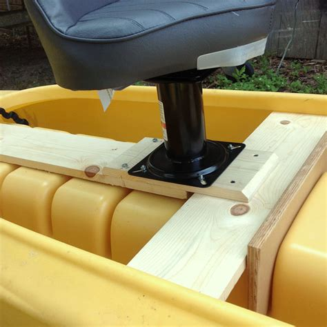 Diy Boat Seat Swivel by Diy Boat Seat Base Diy Do It Your Self