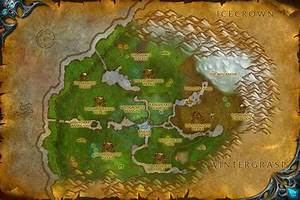 The Stormwright39s Shelf Sholazar Basin Map World Of