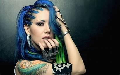 Alissa Gluz Enemy Arch Wallpapers Singer Tattoo