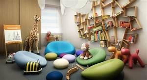 Etagere Enfant Murale : l 39 tag re murale design 82 id es originales ~ Teatrodelosmanantiales.com Idées de Décoration