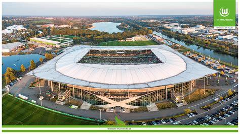 Bundesliga side vfl wolfsburg will have their logo on the kit of u.s. volk wagon: Volkswagen Arena Wallpaper