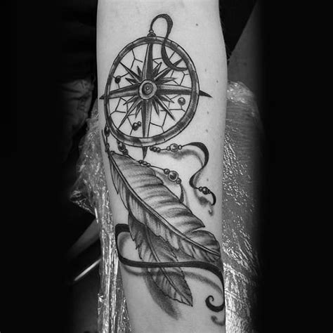 dreamcatcher tattoos  men divine design ideas