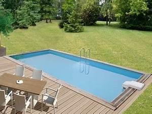 Piscine En Kit Pas Cher : mise en place piscine en kit enterr e pas cher ~ Melissatoandfro.com Idées de Décoration