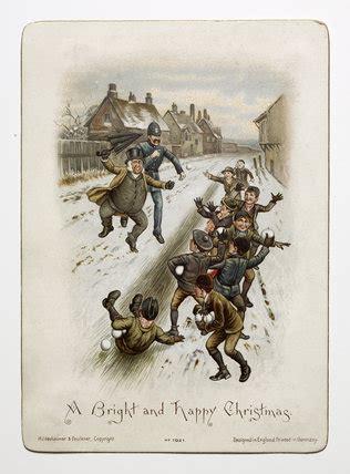 victorian christmas card    hildesheimer
