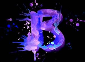Neon Watercolor Paint Letter K Royalty Free Stock