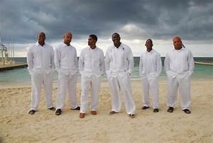 Linen Beach Wedding Attire for Men and Boys - Tianzhenqab.com