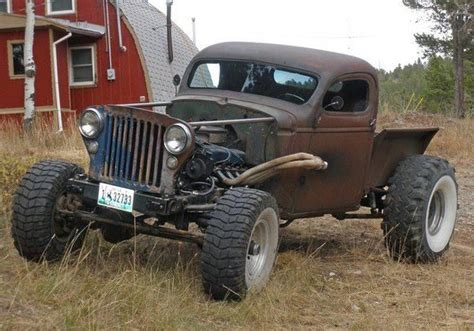 Rat rod 4X4 that's different   Rides   Pinterest