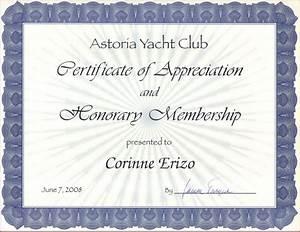 honorary membership certificate template 28 images With honorary member certificate template