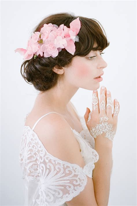nymph pink millinery hair comb bridal headpieces