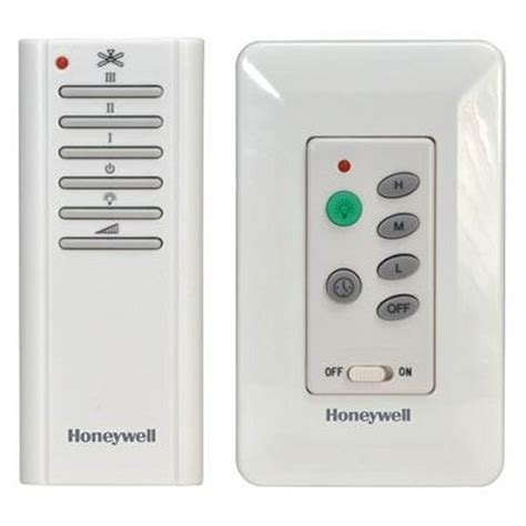 honeywell bath fan control manual honeywell combo wall and handheld control ceiling fan