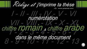 20 En Chiffre Romain : insertion num rotation chiffre romain et chiffre arabe youtube ~ Melissatoandfro.com Idées de Décoration