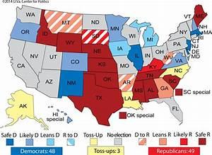 Larry J. Sabato's Crystal Ball » Senate 2014: A coin-flip