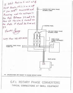 Rotary Phase Converter With Idler Motor Diagram