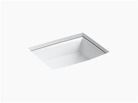 wall mount bathroom sink faucet installation k 2355 archer undermount sink kohler