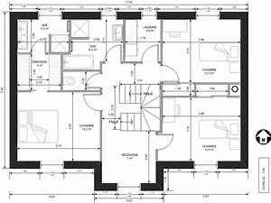 plan maison 2 etage gratuit With superb plan de maison etage 10 plans de maisons contemporaines catalogue et plans
