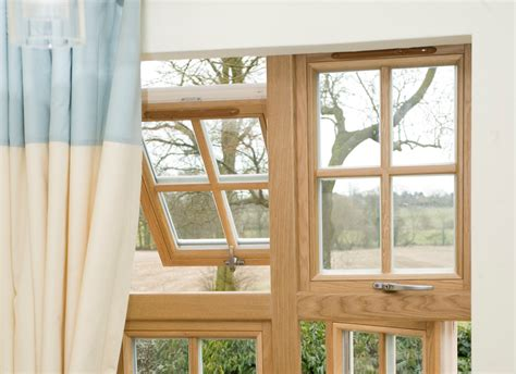Signature Megrame Wood Top Hung Windows