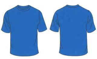 Blue T-Shirt Template