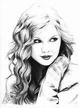 Swift Taylor Coloring Pages Singer Favorite Printable Printables Drawing Colouring Adults Colorluna Luna Country Popular Library sketch template