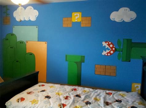 46 Best Images About Boys Mario Themed Bedroom On