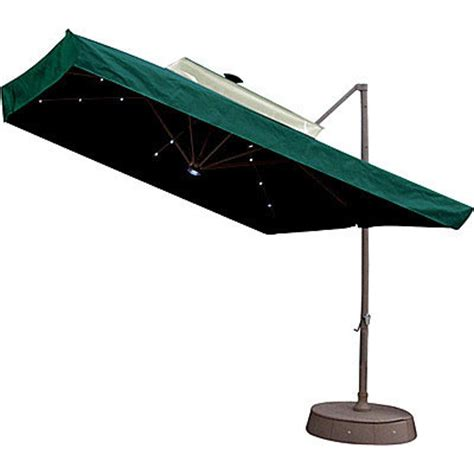 bj offset solar umbrella replacement canopy garden winds