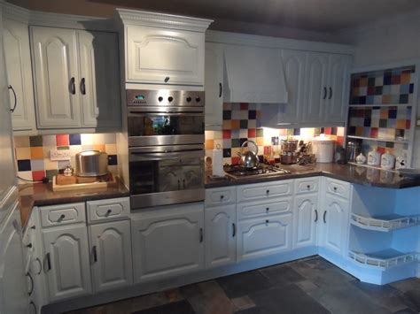 spray painting kitchen cabinet doors  gloucestershire