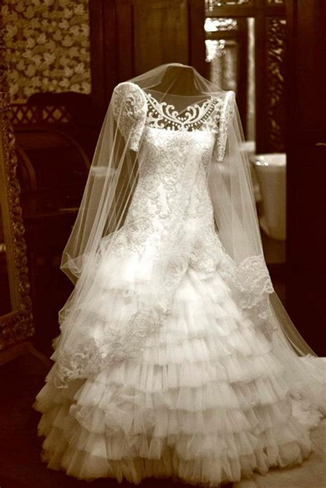 filipiniana gowns dressed  girl