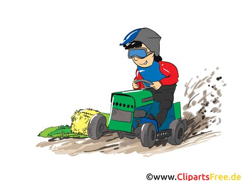 trecker treck clipart bild cartoon comic illustration