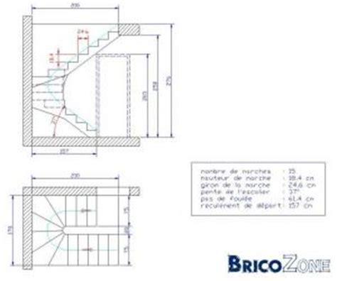 escalier en beton aux normes